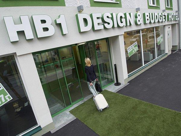Österreich Kurzurlaub im HB1 Design & Budget Hotel in Wien Schönbrunn erleben