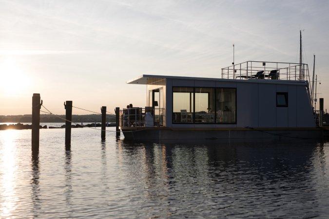 4 Tage Erlebnisurlaub zu zweit auf einem WELL Hausboot in Süd-Dänemark an der Flensburger Förde