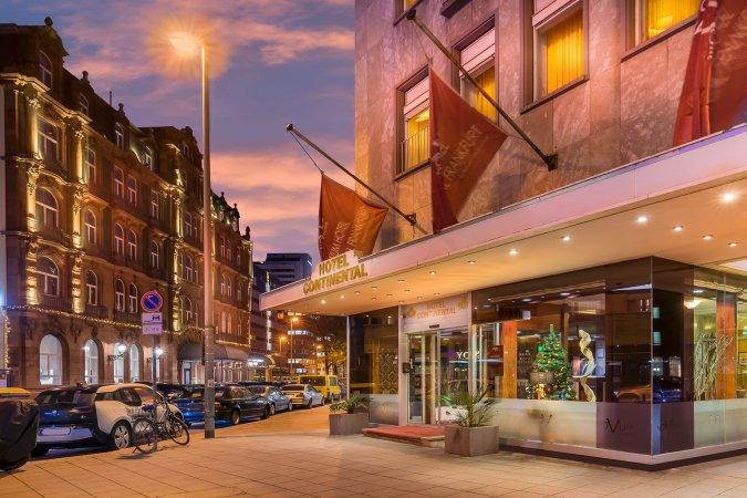 3 Tage Kurzurlaub zu zweit in Frankfurt im Novum Hotel Continental - Winter Special