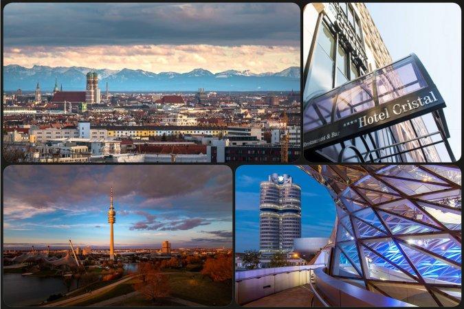 Städteurlaub im 4* Hotel Cristal München im Zentrum von München