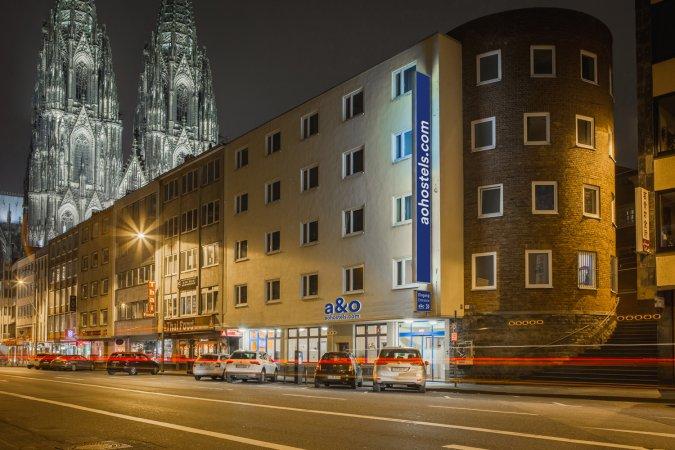 4 Tage Kurzurlaub zu zweit in Köln im a&o Köln Dom