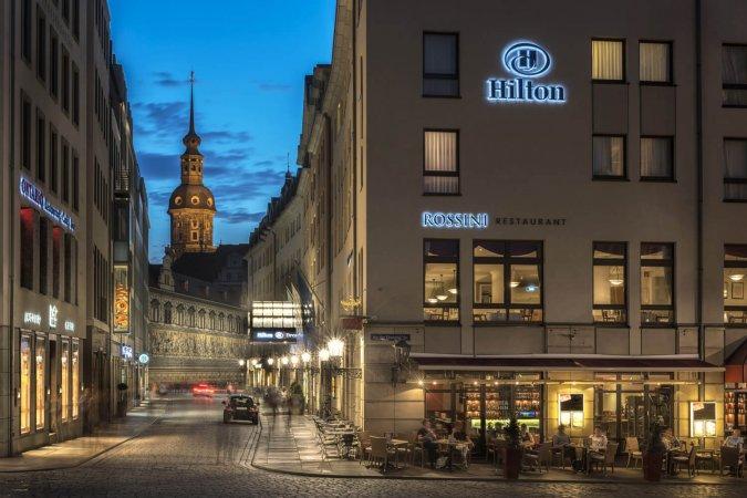 Luxuriöser Kurzurlaub für zwei im 4* Hotel Hilton Dresden erleben