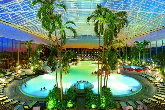 Kurzurlaub im PTI Hotel Eichwald in Bad Wörishofen & 2 Tickets für die THERME Bad Wörishofen - Winter Saison