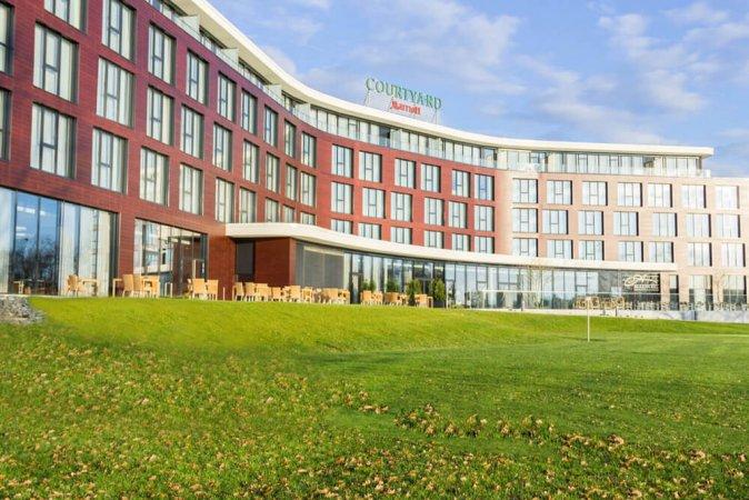 4 Tage für Zwei im 4* Hotel Courtyard by Marriott in Wolfsburg am Allersee