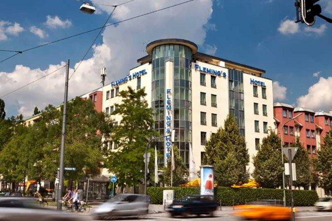 Städtereise zu zweit in Fleming's 4* Hotel München-Schwabing im Herzen von München
