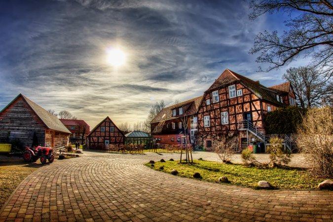 3 Tage das kleine Paradies an der Müritz erleben im Gutshof Woldzegarten