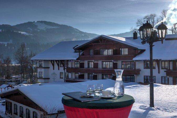 3 Tage Wellness & Erholung zu zweit im Allgäu im Königshof Hotel-Resort Oberstaufen