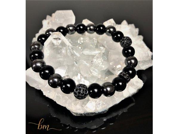 Onyx Perlenarmband