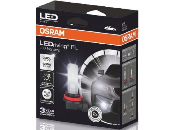 LEDriving FL H8/H11/H16/12V/8.2W/PGJ19-X