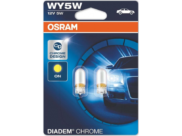 DIADEM CHROME WY5W Twinblister Blister VPE 2