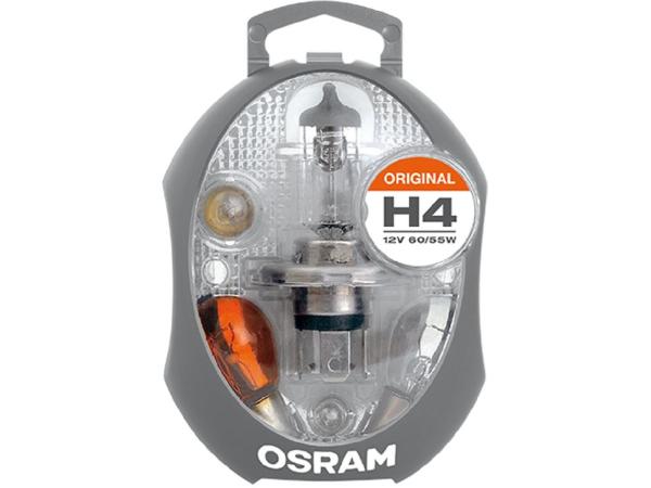 EUROBOX MINI H4 12V Inhalt 6 Glühlampen & 3 Sicherungen