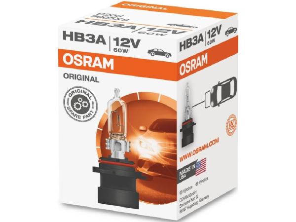 Glühlampe HB3A 12V 60W P20d