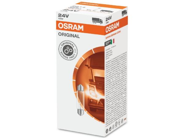 Soffittenlampe 24V 10W SV8,5-8 / 41 x 11 mm