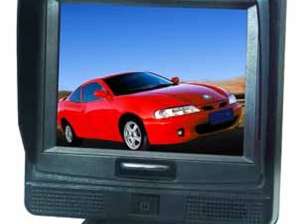 3,5 TFT LCD Touch-Screen Farb 12V-16V für max. 2 Kameras