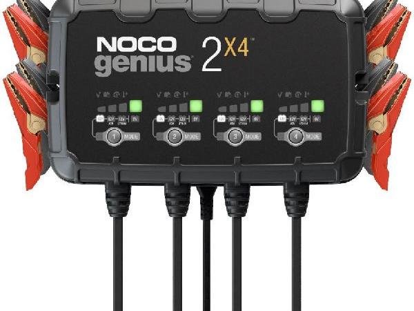 Genius 2x4 Batterieladegerät 4x2A/6-12V