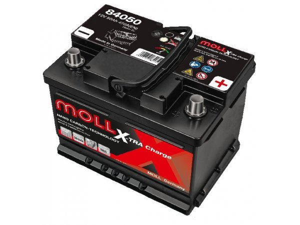 X-TRA Charge 12V/50Ah/450A LxBxH 207x175x175/B13/S:0