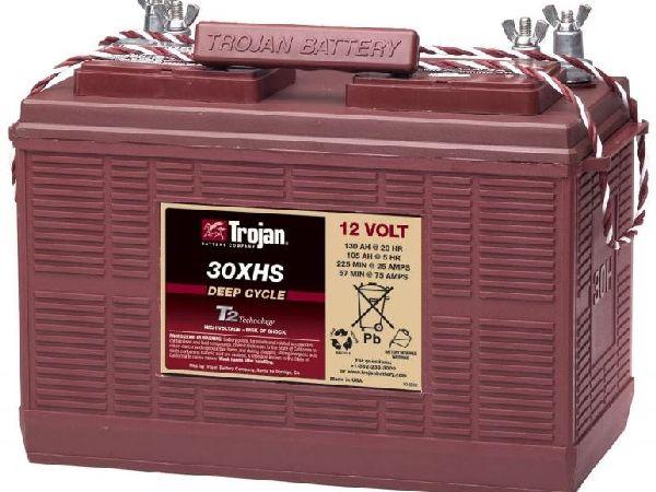 Block-Batterie 12V/105Ah-130Ah LxBxH 355x171x256mm/S:0