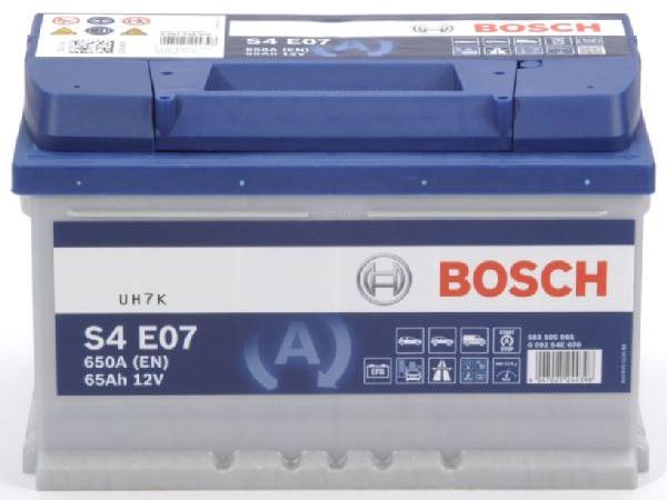 EFB-Batterie Bosch 12V/65Ah/650A LxBxH 278x175x175mm/S:0