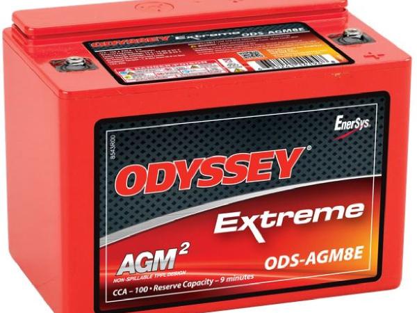 AGM-Batterie 12V/8Ah/100A LxBxH 138x86x101mm/S:0