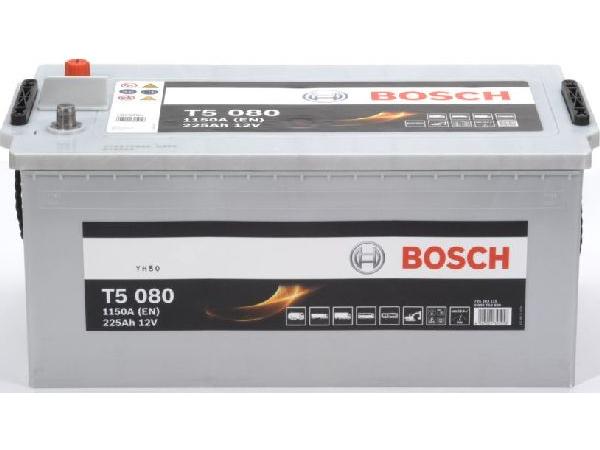 Starterbatterie Bosch 12V/225Ah/1150A LxBxH 518x276x242mm/S:3