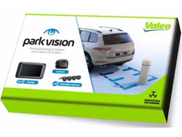Park Vision Kamera + 4 Sensoren / TFT Display