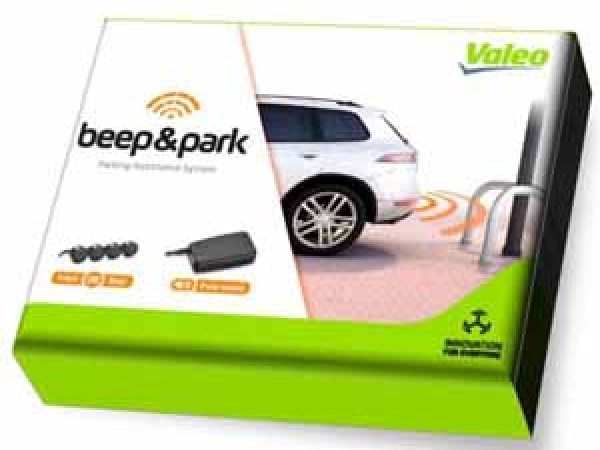 Beep + Park Einkparkhilfe Kit 1 mit 4 Sensoren + Lautsprecher