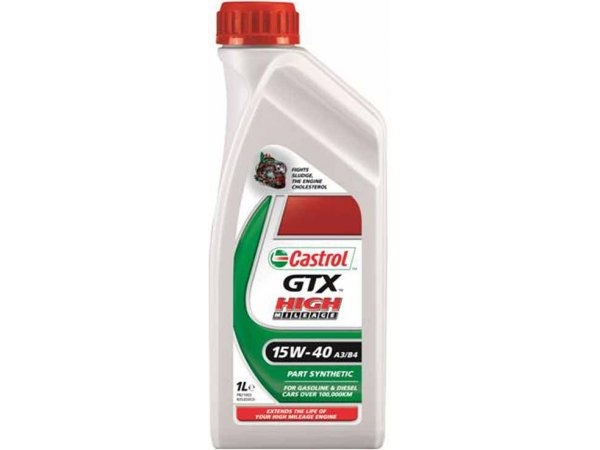 GTX High Mileage A3/B4 15W-40 Part synthetic 1L