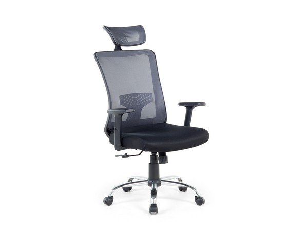 Bürostuhl NOBLE grau-schwarz CH