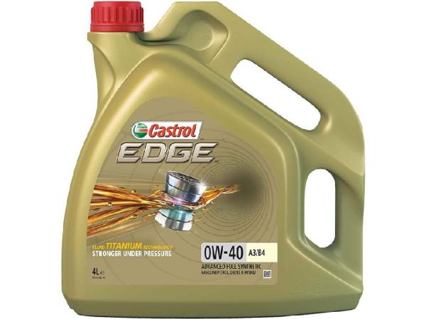 EDGE 0W-40 Titanium A3/B4 Fully synthetic 4L