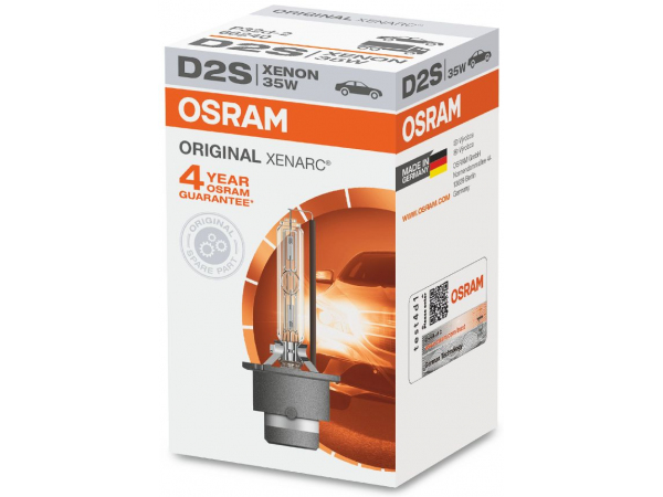 OSRAM incandescent lamps D2S XENARC 35W P32d-2
