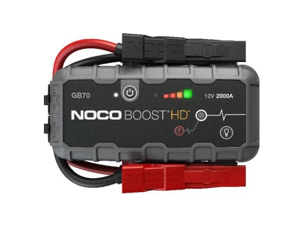Noco Genius Boost HD jump starter 2000A/12V