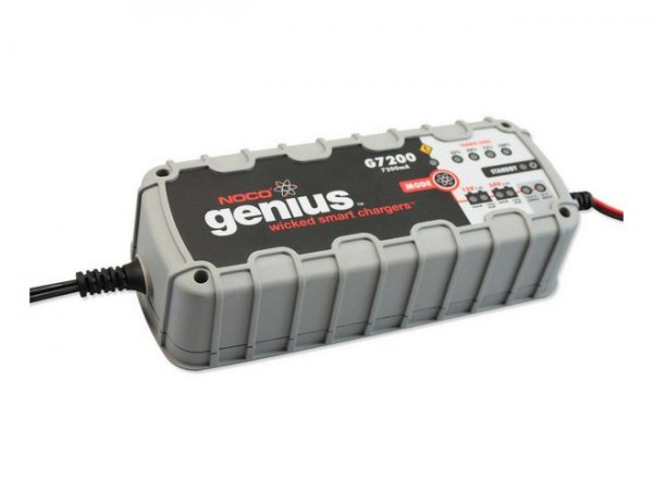 Noco Battery Charger 7.2A / 12-24V