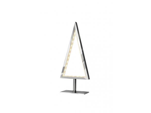Table lamp PINE 28cm chrome
