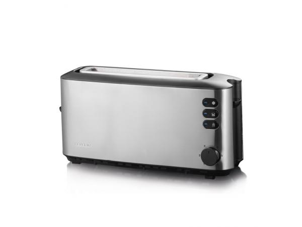 Toaster AT2515 schwarz/edelstahl