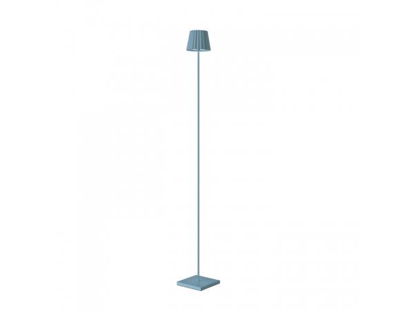 Stehleuchte TROLL blau, 120cm