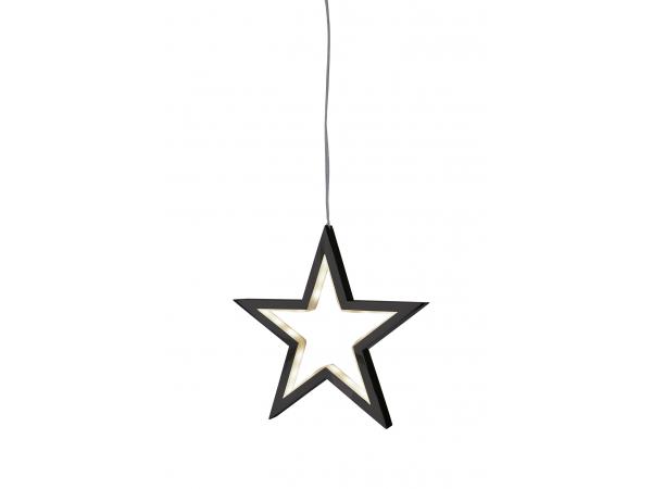 Lámpara decorativa LUCY negro 18cm