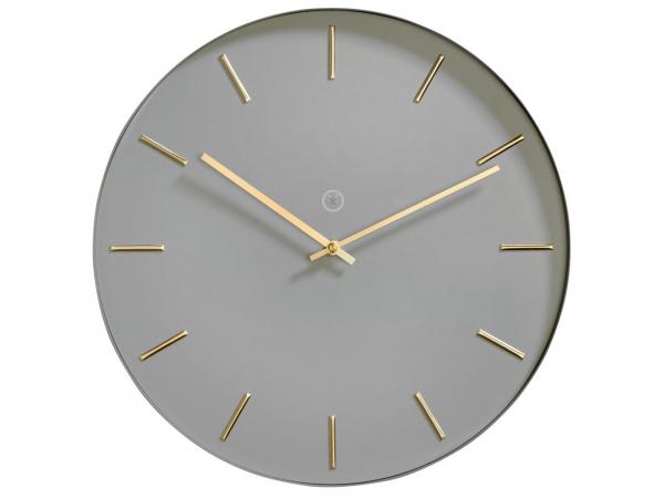 Wall clock HELSINKI gray