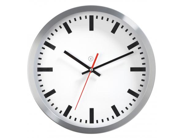 Wall clock NEVADA white