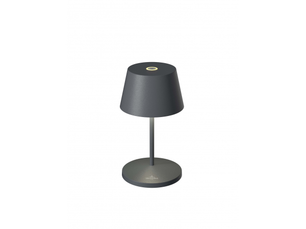 Table lamp SEOUL 2.0, anthracite