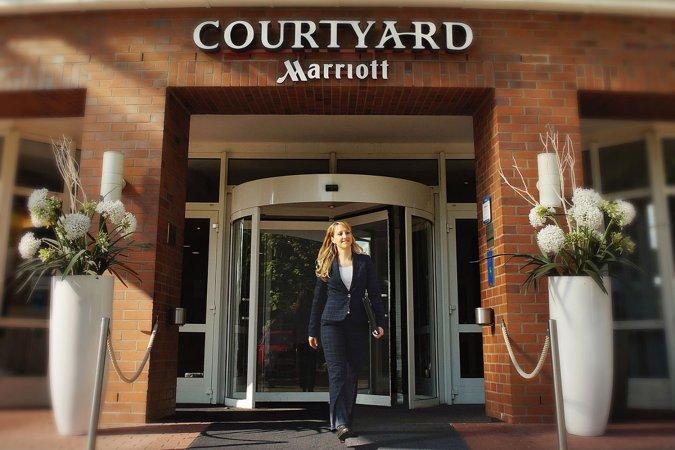 Kurzurlaub  im 4* Courtyard by Marriott Dresden erleben & genießen