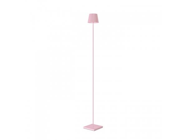 Outdoor-Stehleuchte TROLL pink, 120cm