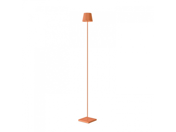 Outdoor-Stehleuchte TROLL orange, 120cm