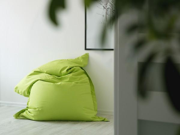 BELIANI Sitzkissen grün 140x180 cm CH