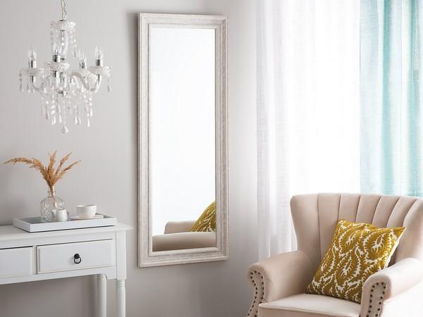 Spiegel VERTOU, 50x130cm, beige/silbern CH