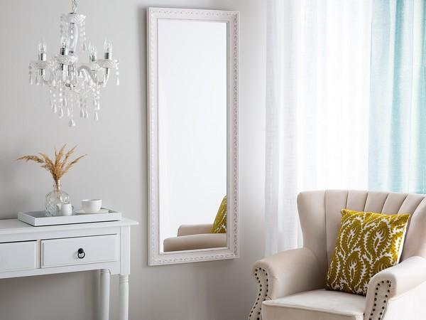 Spiegel MAULEON, 50x130cm, white/silbern  CH