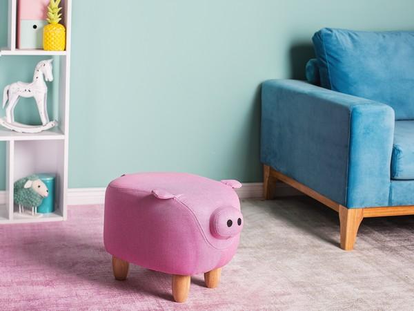 Hocker PIGGY rosa CH