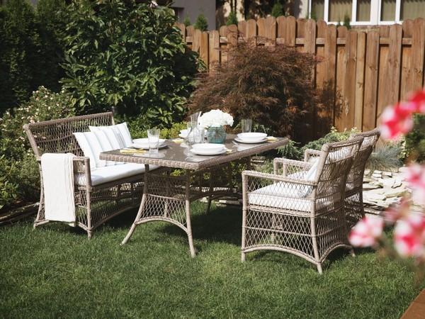 Gartenmöbel aus Rattan BARLETTA CH