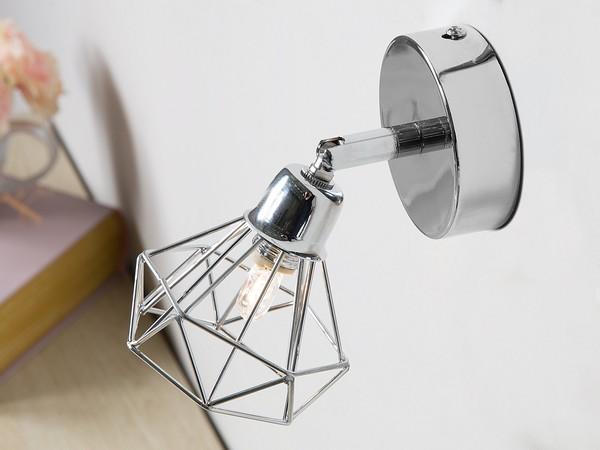 Wandlampe ERMA Silbern CH