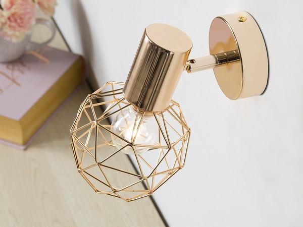 Wandlampe CHENAB gold CH