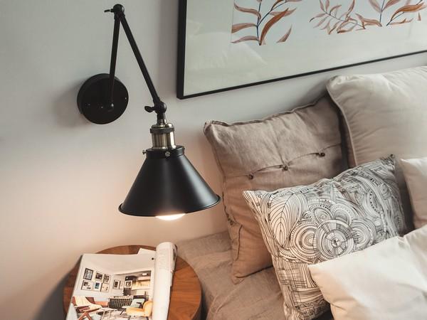 Wandlampe NARVA, schwarz CH
